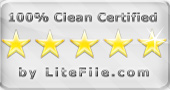100% Clean Certifified