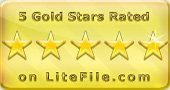 5 Gold Stars on LiteFile