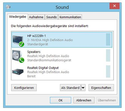 Sound Einstellungen Windows
