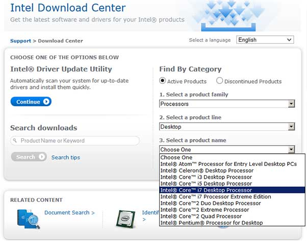 Intel Driver Download