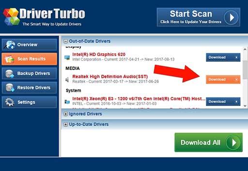 Driver Turbo - Realtek Driver Update