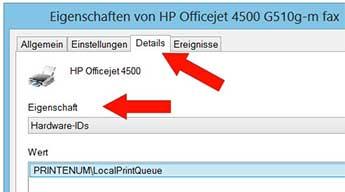 Beispiel Hardware-IDs